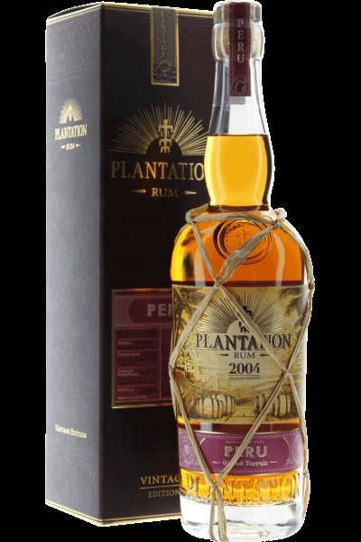 Rum Plantation 12 years 2004 Peru - Vintage Edition in GP