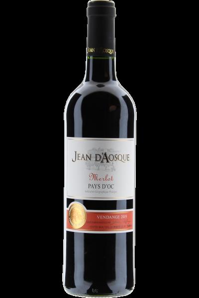 Merlot Jean d´Aosque 2019 Vin de Pays d´Oc