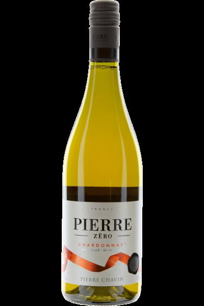 Pierre Zero Chardonnay sans alcool Alkoholfreier Wein Pierre Chavin