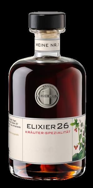 Elixier 26 Platin Private Label Scheibel Kräuter-Spezialität Elixier