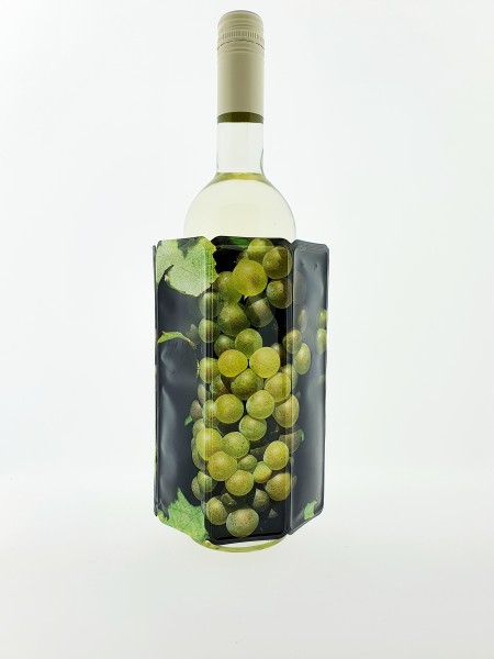 RI Wine Cooler Grapes White Vacu Vin 3881460 Traubenmotiv