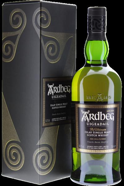 Ardbeg Uigeadail Islay Single Malt Whisky in Geschenkpackung