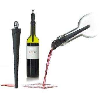 Wine Finer Gießkorken Nuance 4 in 1 Ausgießer,Korken,Feinfilterung,Schnabel
