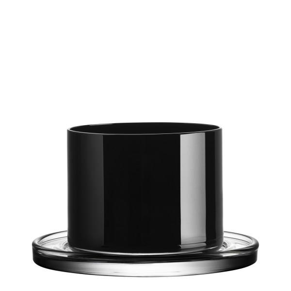 KL Glas Tumbler black 2er 14cl Lagerfeld Orrefors 766590532