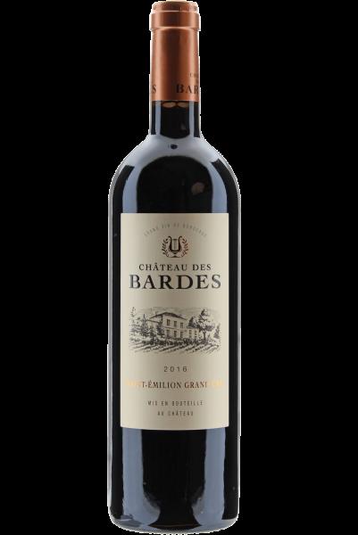 Château des Bardes 2016 Saint Emilion Grand Cru Bordeaux
