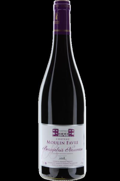 Beaujolais Nouveau Rouge 2018 Moulin Favre - Beaujolais Primeur