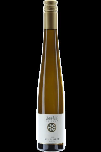 Scheurebe Eiswein 2018 Köster Wolf Albiger Schloß Hammerstein 0,375 l