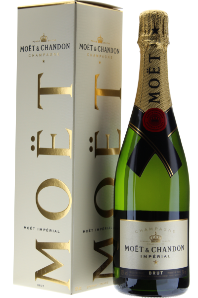 Moet & Chandon Imperial Champagne in Geschenkpackung