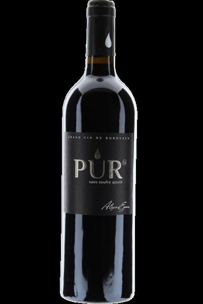 Pur 2015 Sans Soufre Ajouté Côtes de Bordeaux, ohne Schwefelzusatz