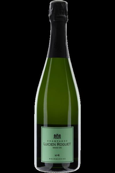 Champagne Demi Sec No. 4 Lucien Roguet Grand Cru - Gourmandise