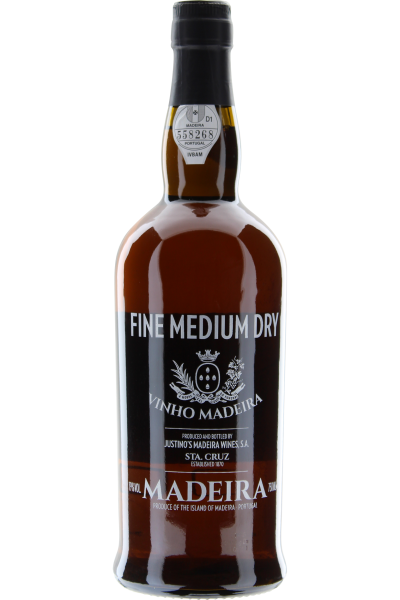 Fine medium dry Justino´s Vinho madeira
