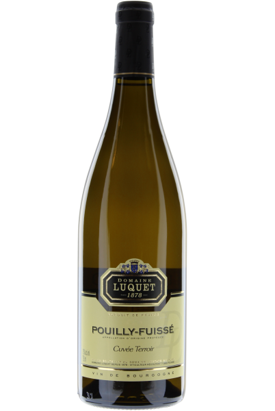 Pouilly-Fuissé Cuvée Terroir 2017 Domaine Luquet Chardonnay