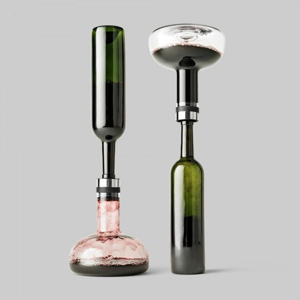 Norm Dekanter Deluxe Verschluss Gold Menu A/S-4683829 Wine Breather