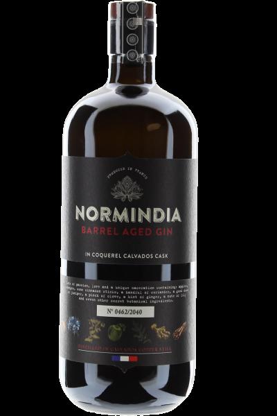Normindia Barrel Aged Gin 6 Monate in Coquerel Calvados Cask