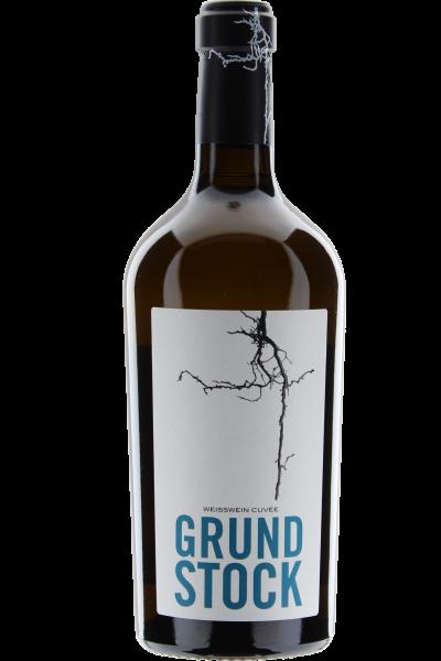 Grundstock 2017 Weißwein Cuvée vegan Bechtolsheimer Petersberg