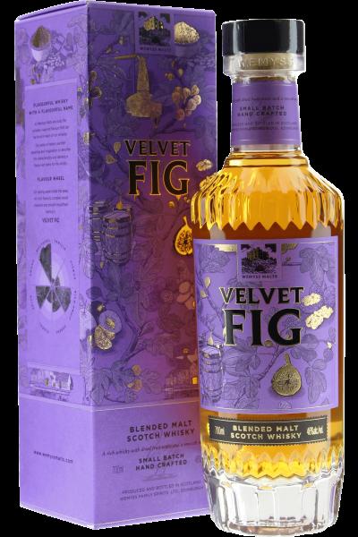 Wemyss Velvet Fig Whisky in Geschenkverpackung