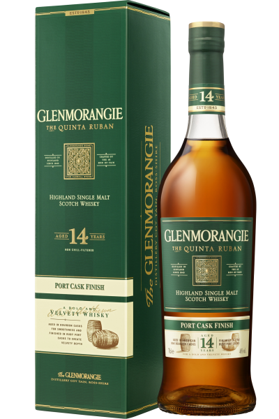 Glenmorangie Malt Scotch Whisky in GP Quinta Ruban 14 Years Port Cask Finish