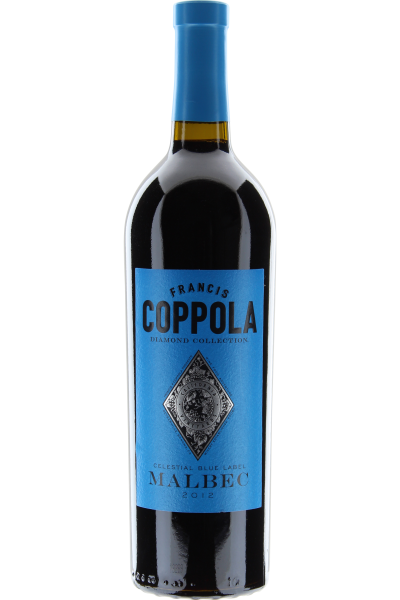 Coppola Diamond Celestial Blue Label California-Malbec 2012