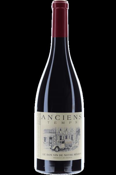 Anciens Temps Cabernet-Syrah 2019 Le Bon vin de Notre Région