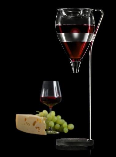 Table Tower Wine 1l stilvoller Servierer und Weinbelüfter VAGNBYS 440095