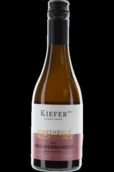 Grauburgunder Beerenauslese Kiefer Herrenbuck Prachtstück 0,375 l