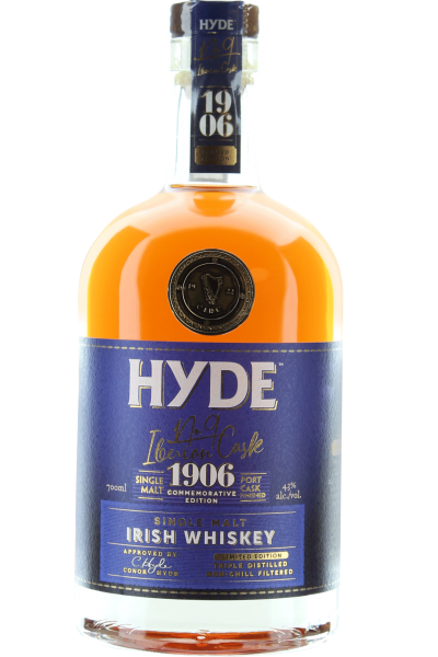 Hyde No. 9 Iberian Port Cask Irish Whiskey Single Malt