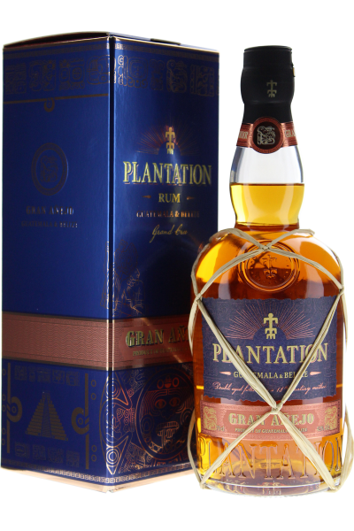 Rum Plantation Gran Anejo Grand Cru Guatemala & Belize - in Geschenkpackung