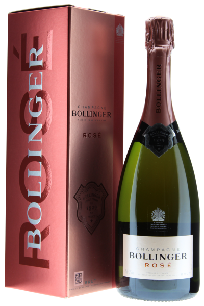 Champagne Bollinger Rosé Brut in Geschenkpackung
