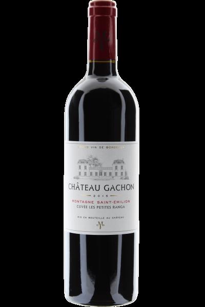 Château Gachon Cuvée Petites Ranga 2015 Montagne Saint-Émilion