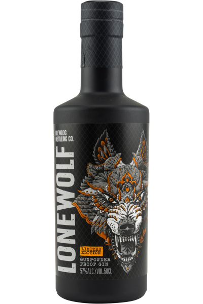 LoneWolf Gunpowder Proof Gin Brewdog Distilling